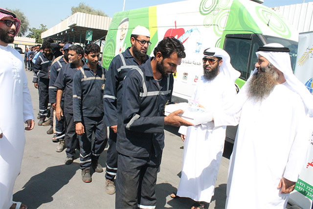 Dar Al Ber contributes free meals to mark World Food Day